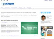 TimPlaten.de – Office, Windows und mehr