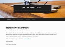 Gwiny investiert…