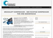 Druckluft Kompressoren im Vergleich