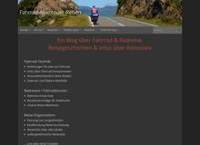 Fahrrad – Abenteuer – Reisen