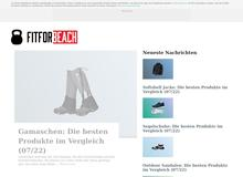fitforbeach.de – Dein Ansprechpartner in Sachen Fitness.