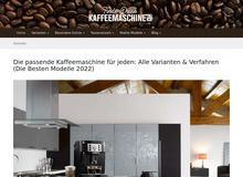 Findedeinekaffeemaschine.de / Alle Varianten auf einen Blick
