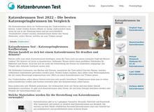 Katzenbrunnen im Test