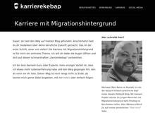 Karriere mit Migrationshintergrund