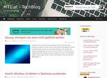MT1 – TechBlog