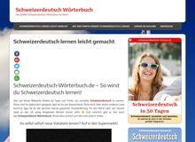 Schweizerdeutsch Wörterbuch