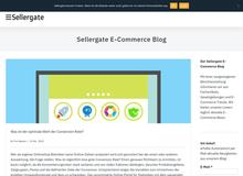 Sellergate E-Commerce Blog