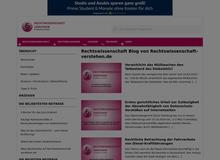 Rechtswissenschaft Blog