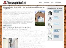 Teleskopleiter im Test