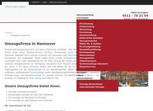 Umzugsfirma in Hannover