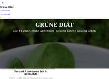 Grüne Diät – #1 zum Gesund Abnehmen und Gesund Essen
