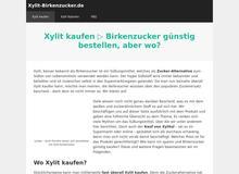 Xylit und Birkenzucker Ratgeber