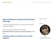 Akkus und Batterien verstehen, um richtigen Ersatz auszuwählen – AkkusBatterien.de