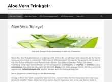 Aloe Vera Trinkgel / Aloe Vera Saft