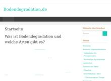 Bodendegradation