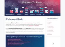 Bücherregal Kinder