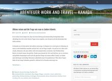 Work and Travel Kanada