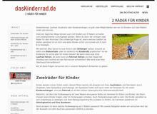 dasKinderrad.de | mobil mit Kindern von Anfang an
