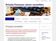 Private Finanzen clever verwalten