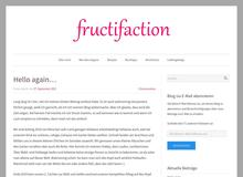 fructifaction