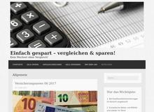 Info Geld Sparen – Vergleichen & Sparen