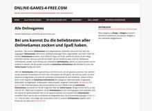 Kostenloser Browsergames Blog