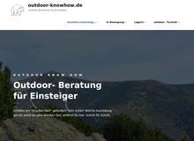 outdoor – Ausrüstungsberatung für Einsteiger
