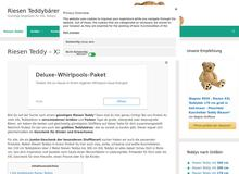 Riesen-Teddys.de – das große Teddy-Portal