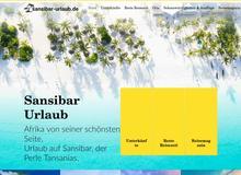 sansibar-urlaub.de – Hotels, Sehenswürdigkeiten, Ausflüge und Aktivitäten für deinen nächsten Sansibar Urlaub