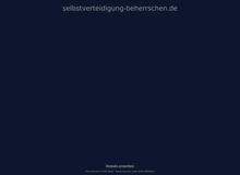 Selbstverteidigung-beherrschen.de – Die Webadresse rund um den Selbstschutz!