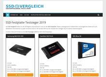 SSD Testsieger – SSD Vergleich